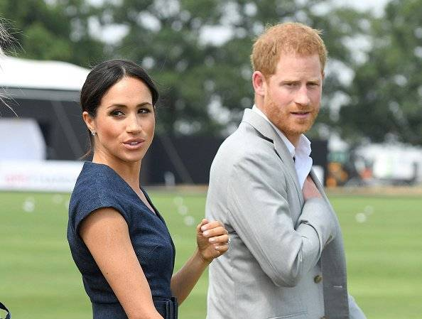 Meghan y Harry Getty Images