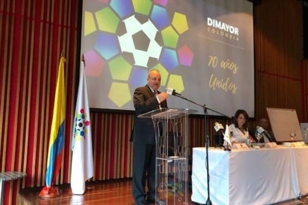 Jorge Enrique Vélez nuevo presidente de la Dimayor