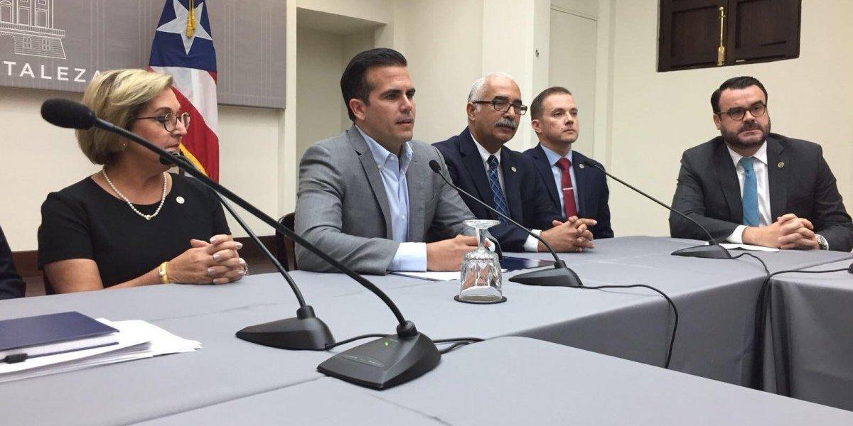 Rosselló anuncia cambio de funcionarios en su gabinete