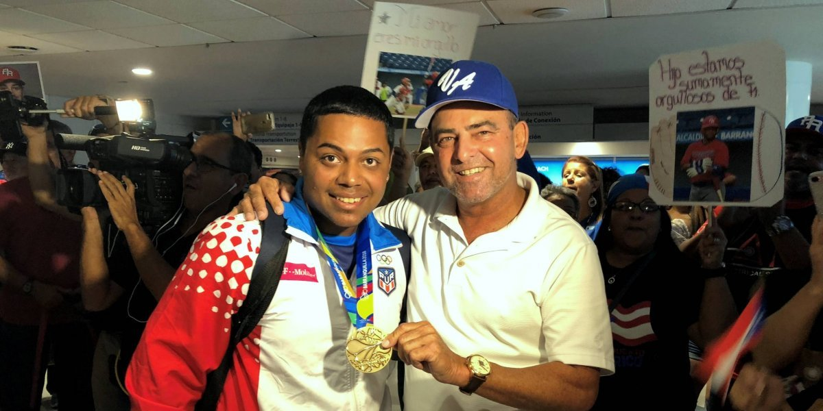 Vegalteños reciben como héroes a medallistas de oro de Barranquilla 2018