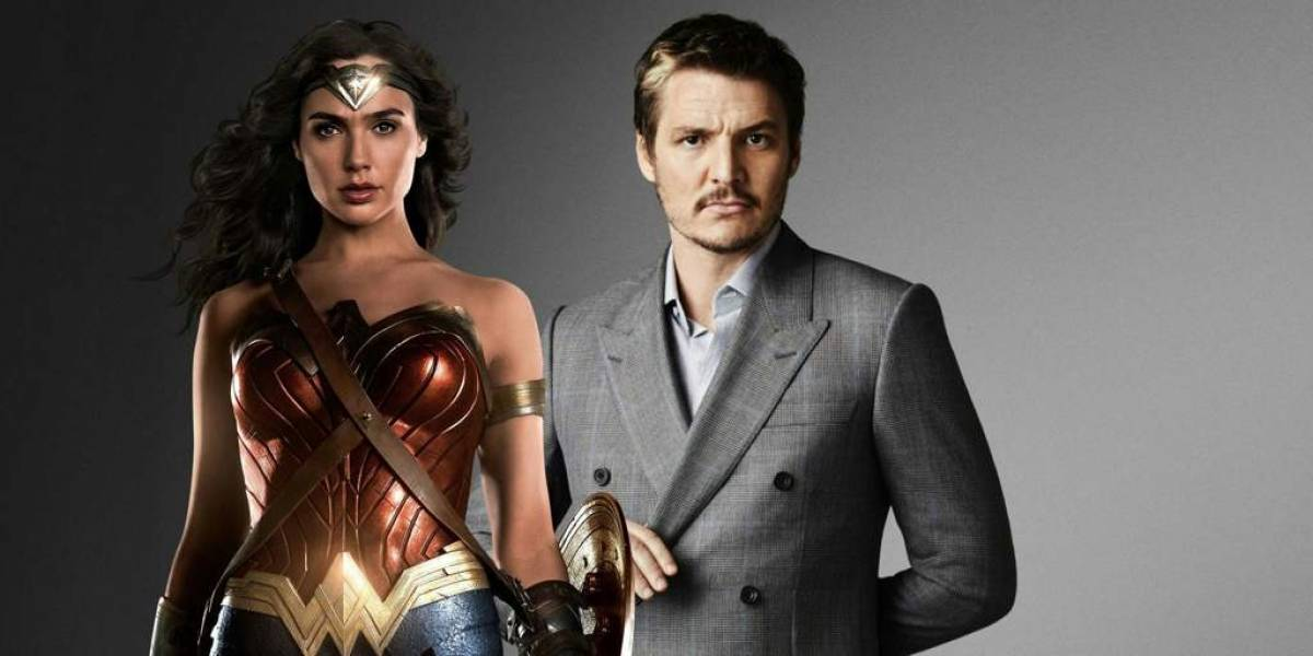 "La primera imagen del chileno Pedro Pascal en la segunda entrega de ""Wonder Woman"""