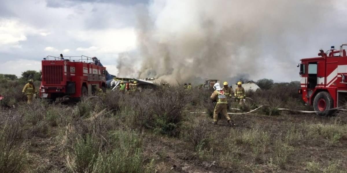 Se desploma avión en cercanías del aeropuerto de Durango