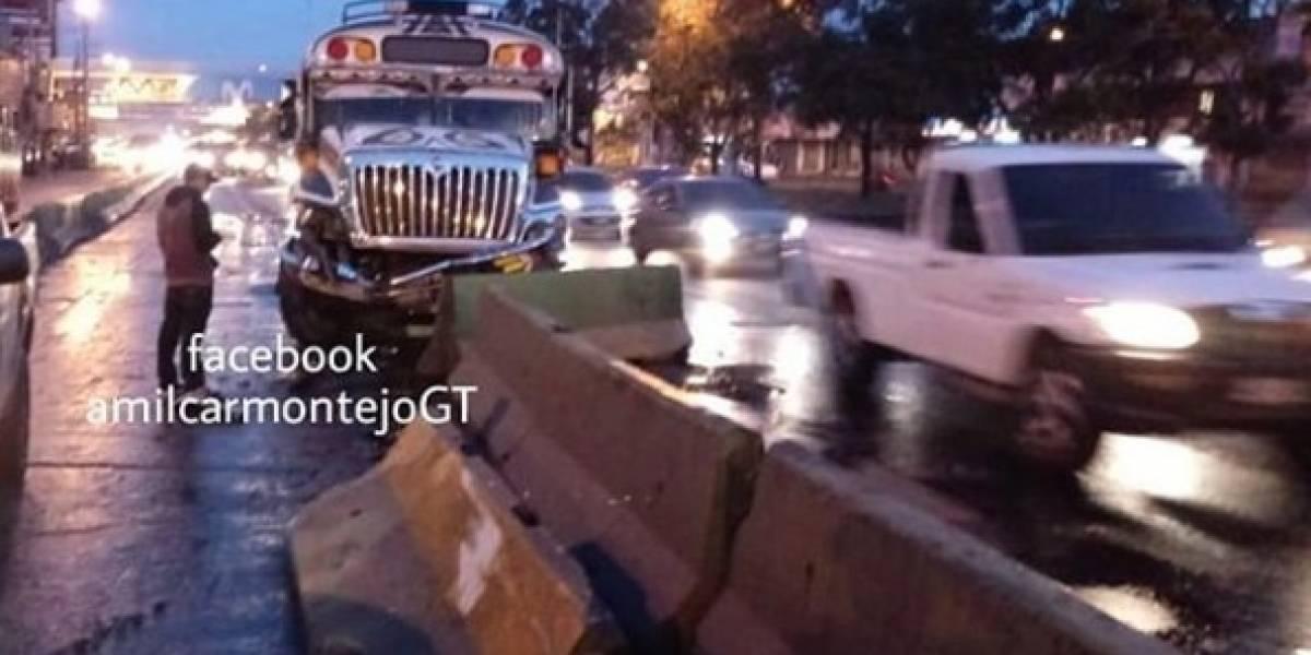 Autoridades de tránsito reportan colisiones en diferentes puntos