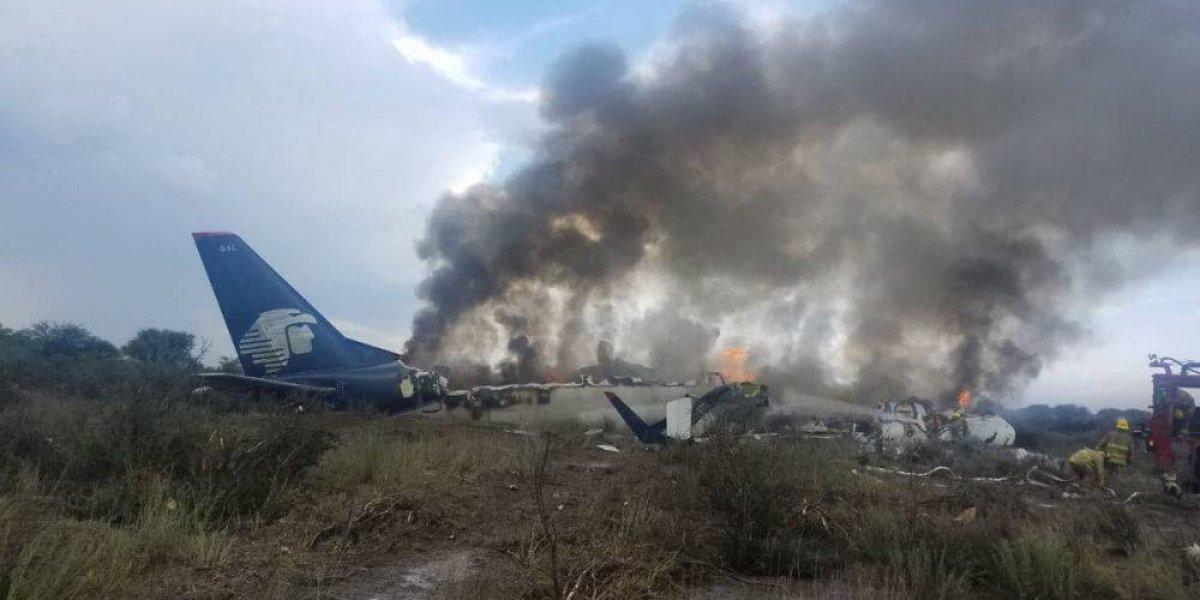 Tormenta y corriente de aire provocaron accidente de avión: Aispuro