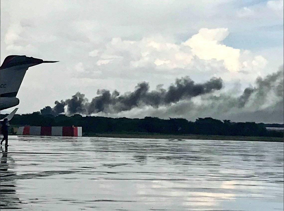 Al menos 12 de los pasajeros están en estado crítico tras accidente de aéronave de Aeroméxico Getty Images