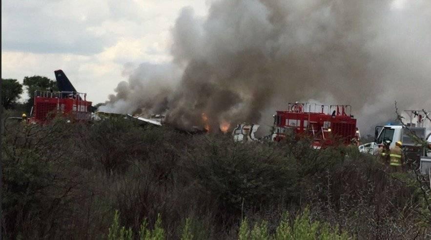 Al menos 12 de los pasajeros están en estado crítico tras accidente de aéronave de Aeroméxico AP