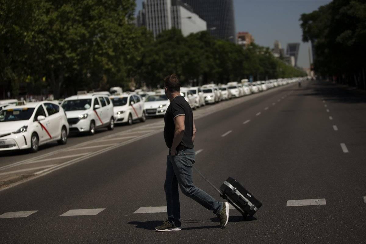Los turistas están preocupados porque no hay taxis desde el viernes en ninguna ciudad