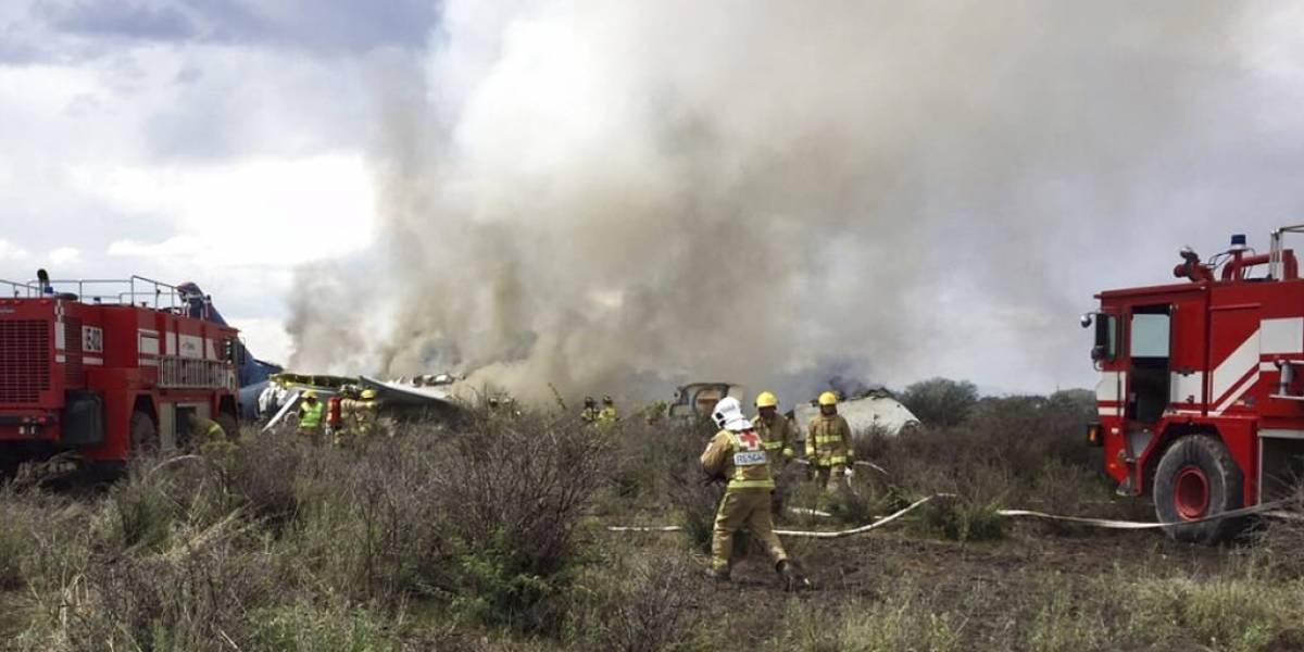 Tremenda noticia: no habría fallecidos tras la caída de avión de pasajeros en México