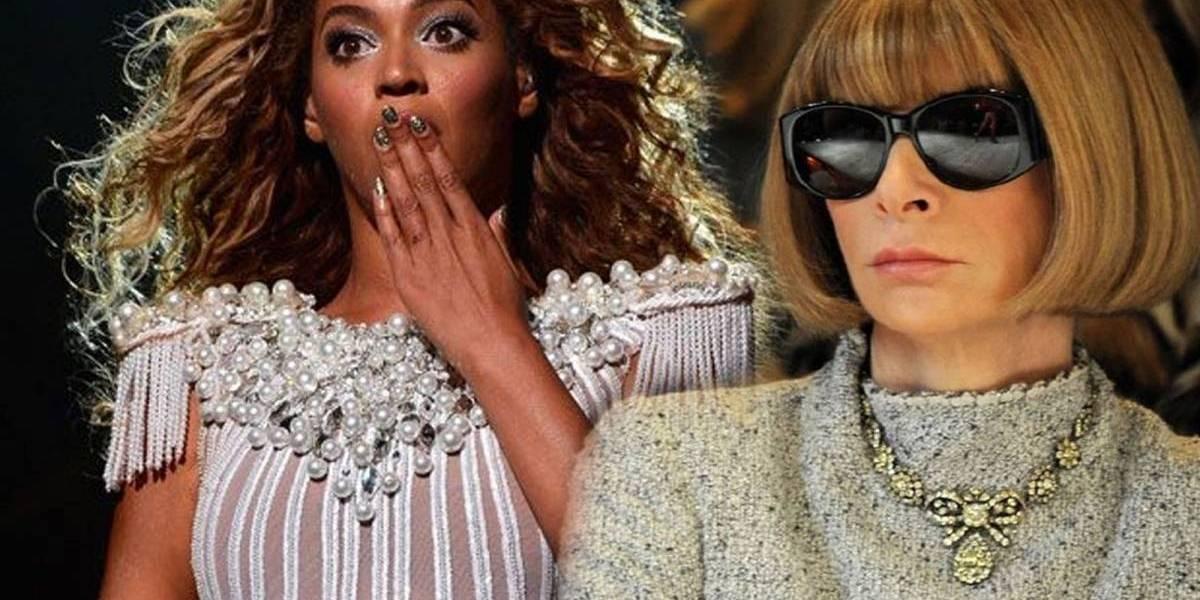 Briga de Titãs: Beyoncé 'passa por cima' de Anna Wintour e comandará capa na Vogue