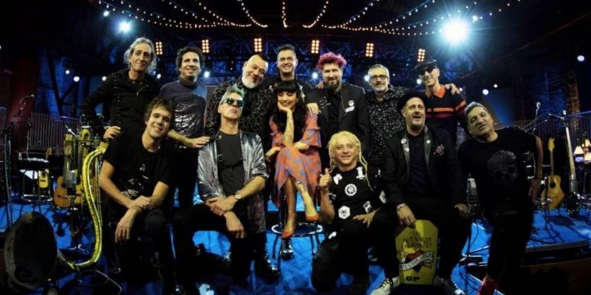 Los Auténticos Decadentes presentan adelanto de su 'MTV Unplugged'