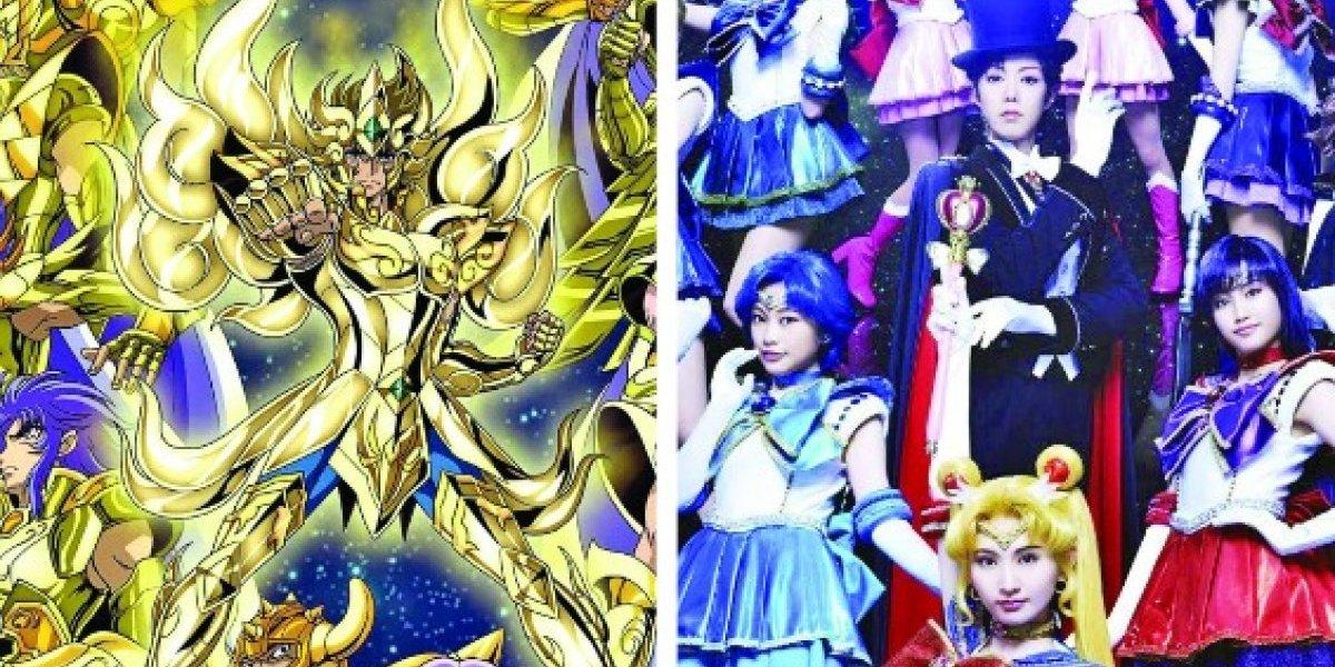 Los Caballeros del Zodiaco vs. Sailor Moon en la pantalla grande