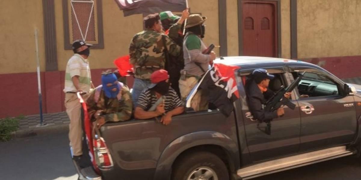 El presidente Daniel Ortega admite acción de paramilitares enmascarados en Nicaragua