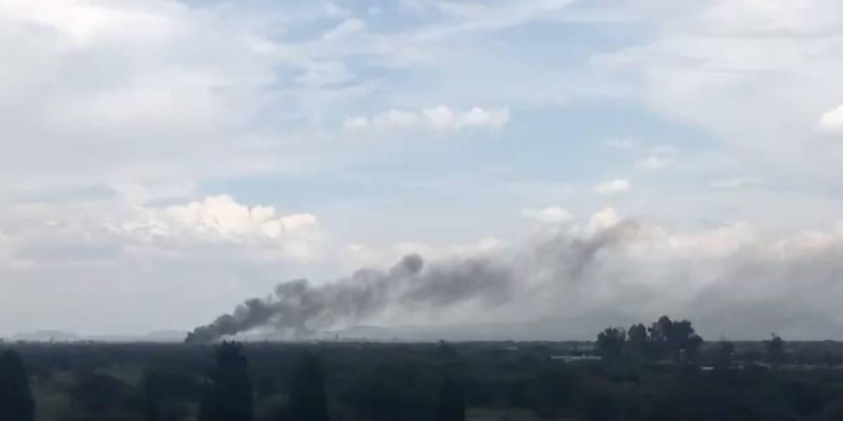 ¡Atención! Avión con 100 pasajeros se desploma en México