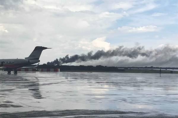 desplome avión