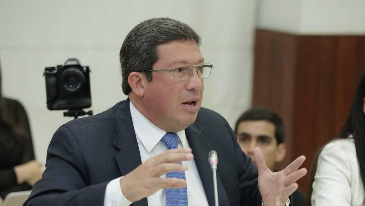 César Navas, Exinistro del Interior