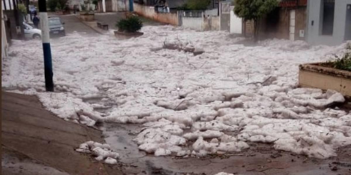 'Mar de gelo' aparece em cidade no interior de São Paulo
