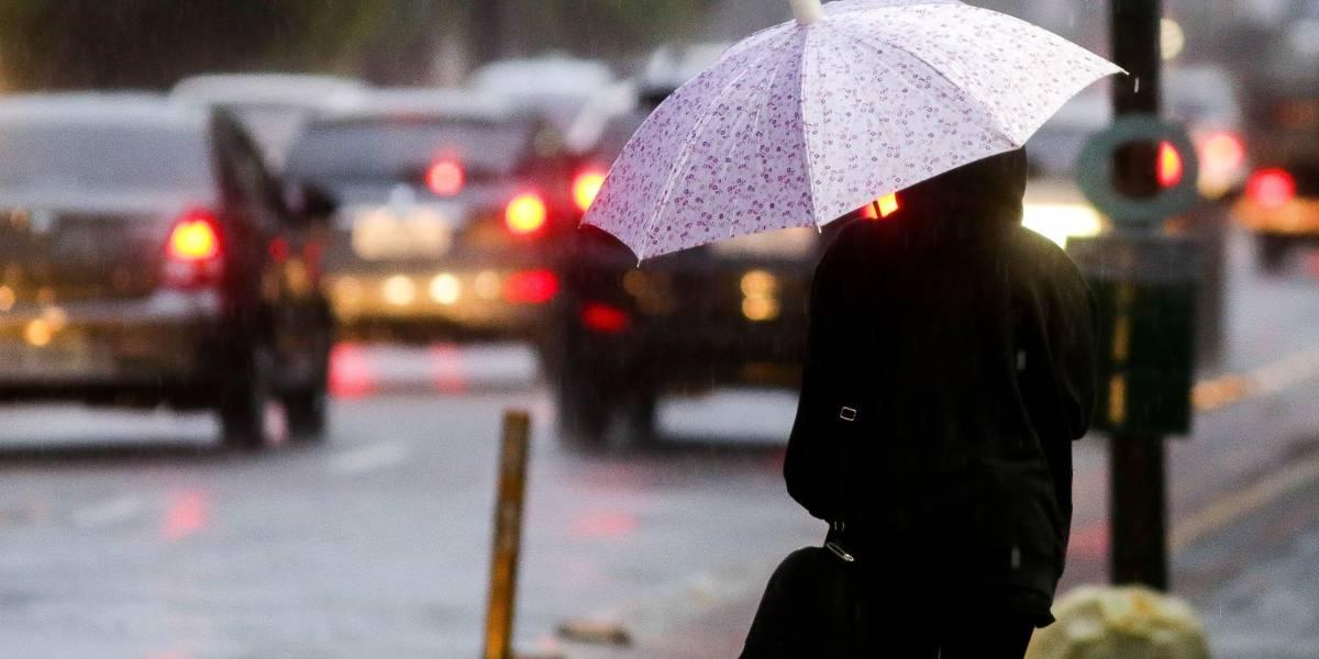 Há previsão de chuva a qualquer hora do dia em São Paulo