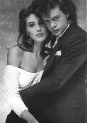 Claudia Heinze y Luis Miguel