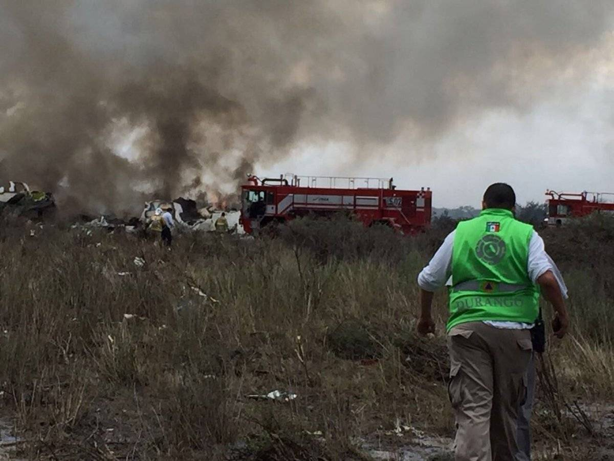 La aeronave cubría la ruta de Durango a la Ciudad de México Foto: Cuartoscuro