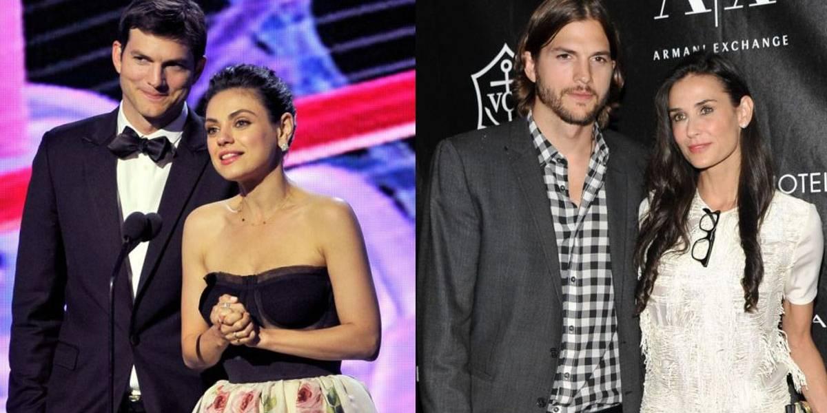 Mila Kunis fala sobre casamento de Ashton Kutcher com Demi Moore: 'Ele amava aquelas crianças'