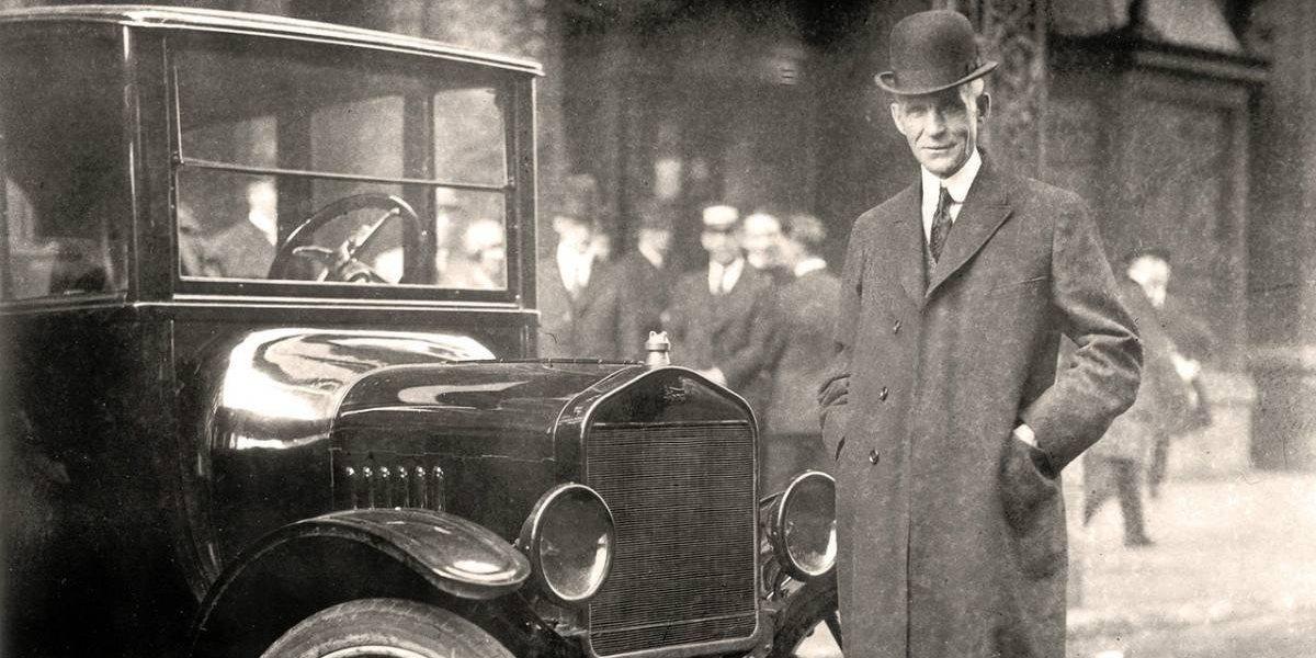 Ford recuerda a su fundador a 155 años de su natalicio