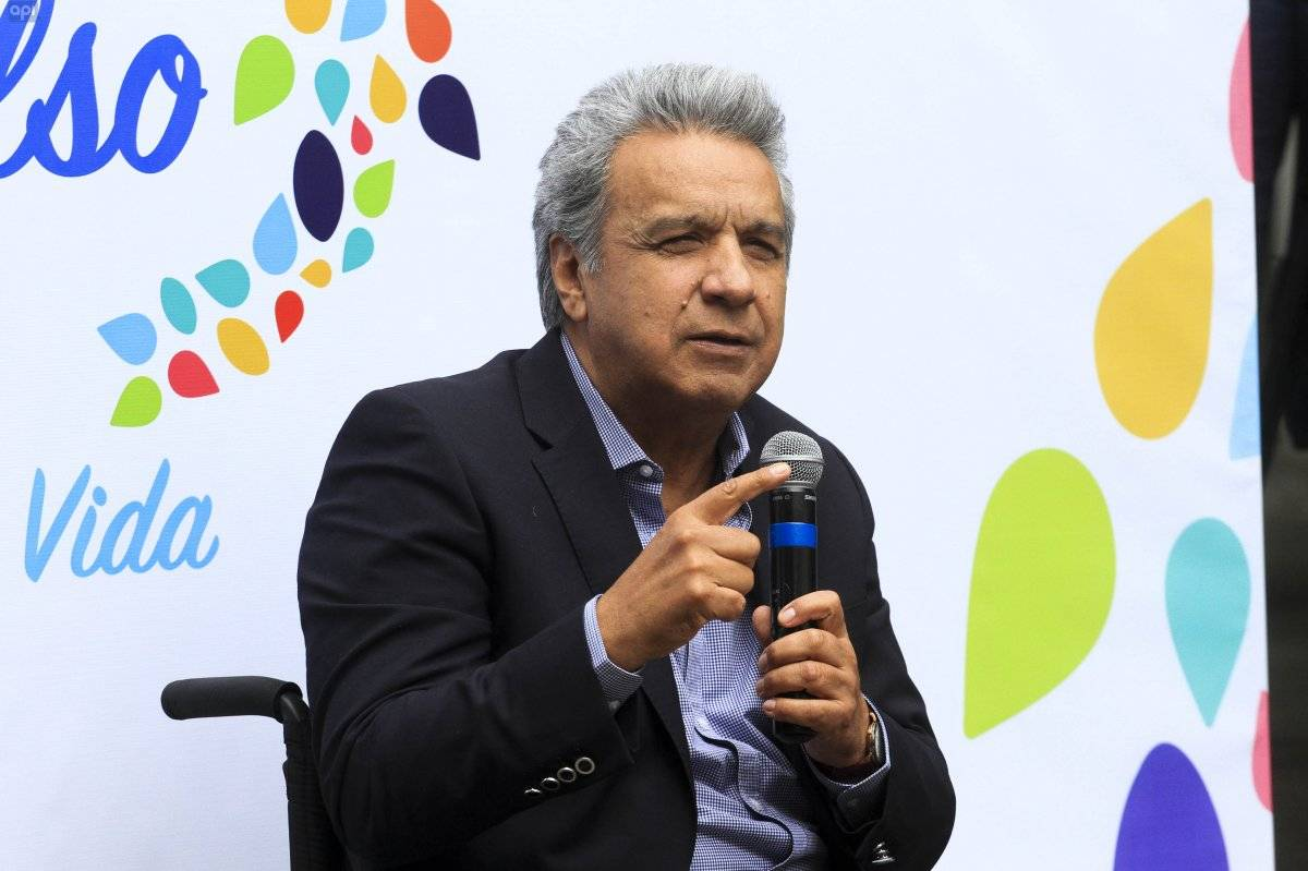Presidente Lenín Moreno: En el sector público ya no hay plata para puestos API