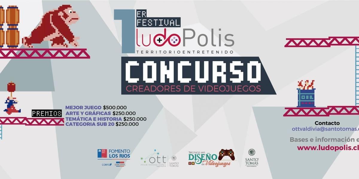 Valdivia tendrá su primer festival de videojuegos: Ludopolis