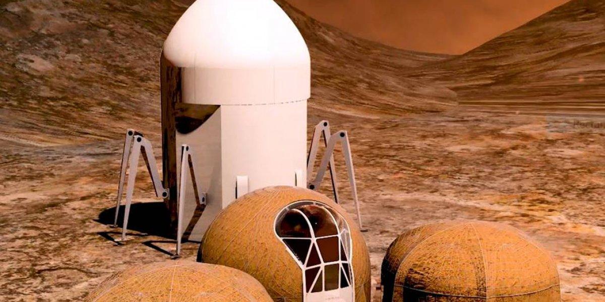 ¿Buscando casa en Marte? Estos son los cinco hábitats humanos para futuras misiones al planeta rojo elegidos por la Nasa
