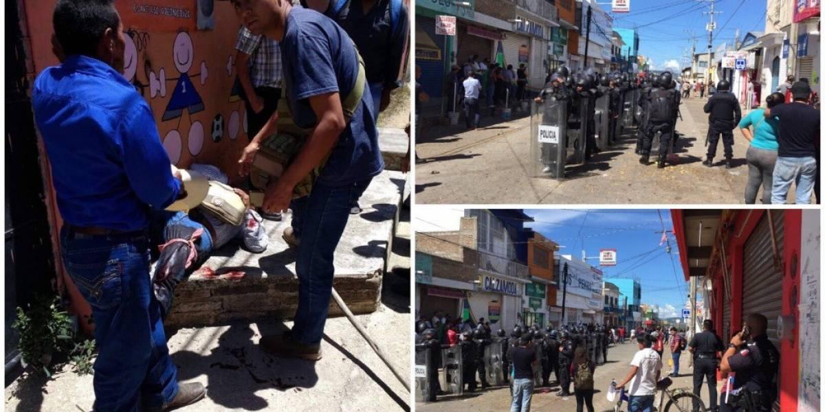 Pelea entre comerciantes deja 2 muertos y 36 heridos en Comitán