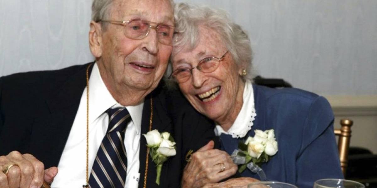 Pareja casada durante 78 años muere con dos días de diferencia