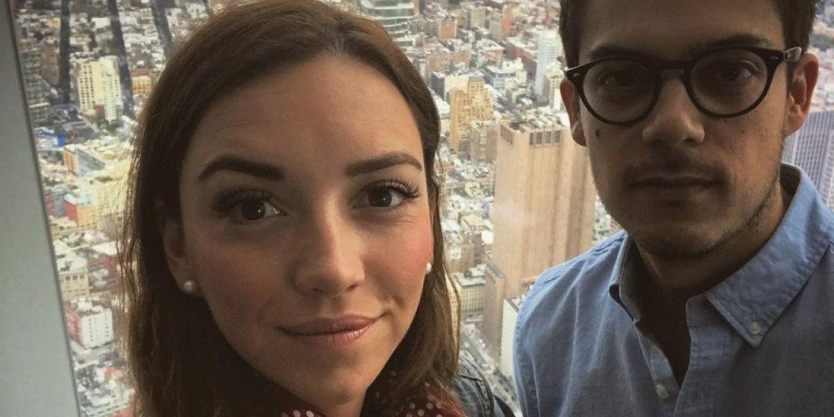 Regina Blandón y Roberto Flores aceptan que están separados