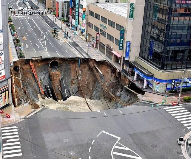 socavón Fukuoka