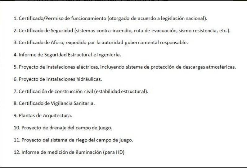 Conmebol inspeccionará los estadios ecuatorianos