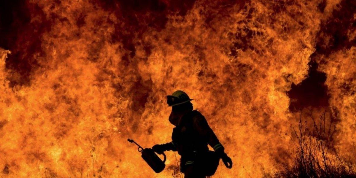 Fuego consume un almacén en Carolina