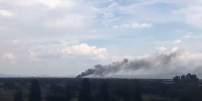 Avión de Aeroméxico se desploma Durango