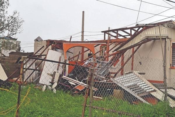 daños tras el huracán María
