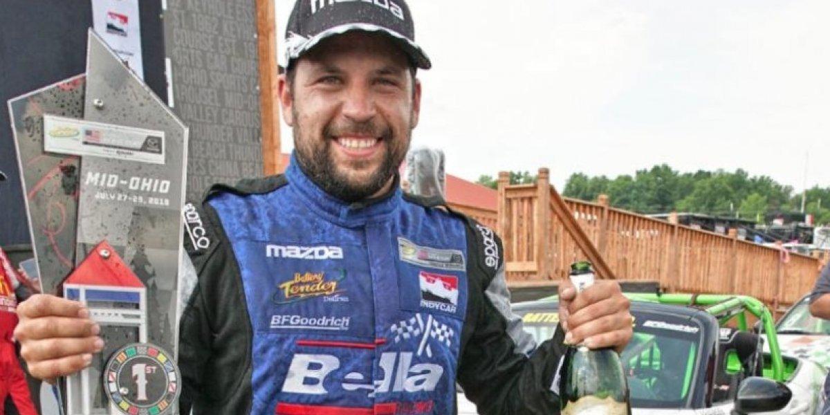 Bryan Ortiz vuelve a conquistar primer lugar de segunda ronda del Mazda Global MX-5 Cup