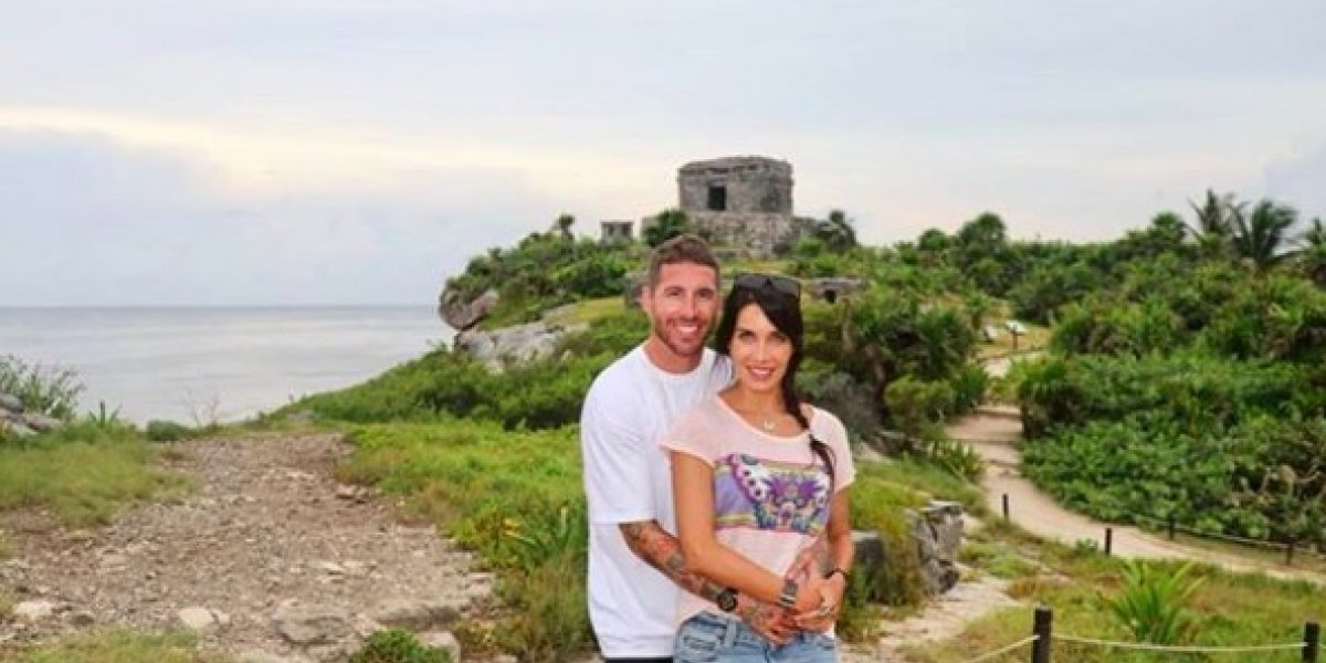 Sergio Ramos disfruta de sus vacaciones en México