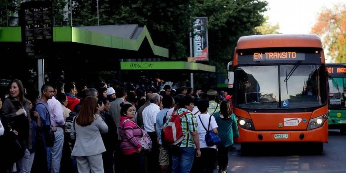 Brutal caída en el sistema del Transantiago origina multas a la empresa responsable