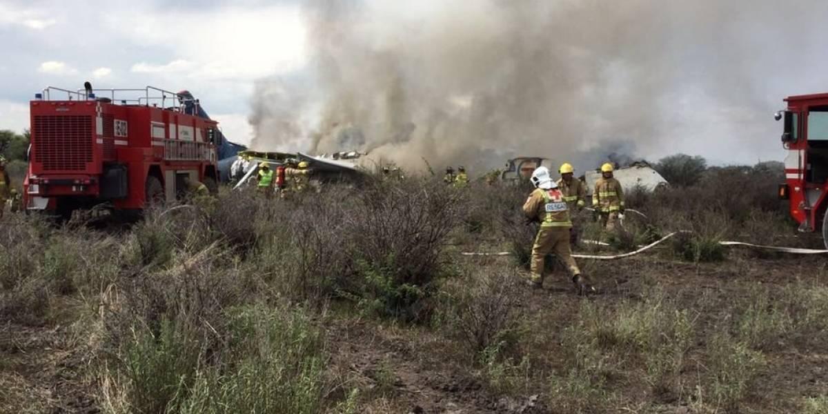 Queda de avião após decolagem no México não tem mortos, diz governador