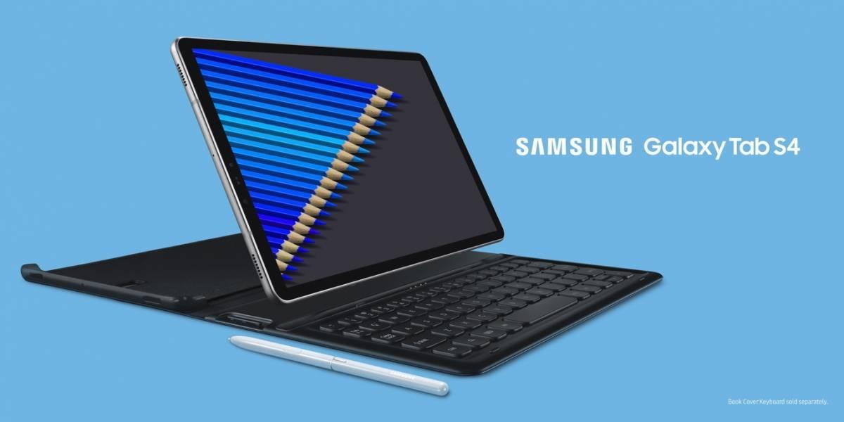 Samsung presenta la Galaxy Tab S4: La estrella de su corona