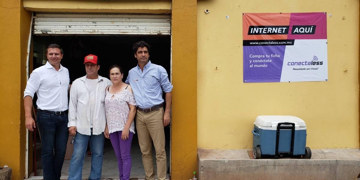 El WiFi comunitario satelital le está cambiando la vida a mexicanos