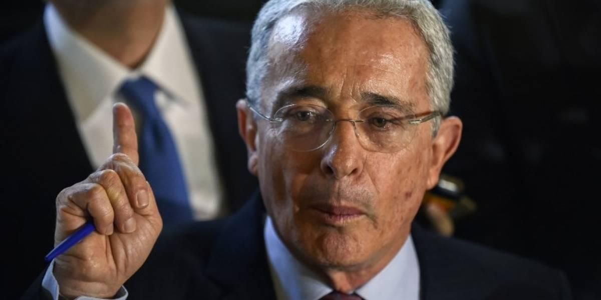 Expresidente colombiano Álvaro Uribe se pronuncia en contra de Iván Velásquez