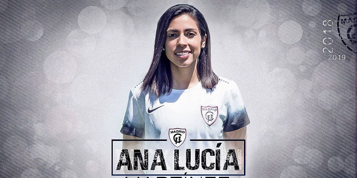 Equipo femenino de Madrid ficha a la guatemalteca Ana Lucía Martínez