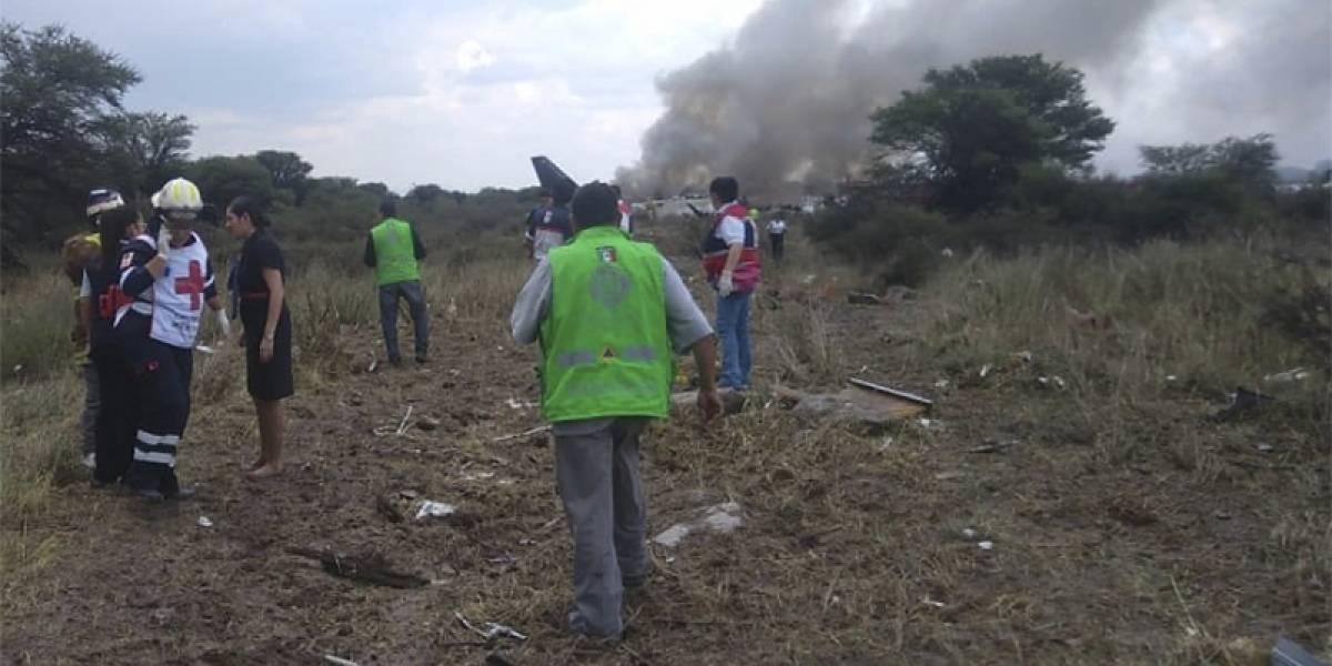 """""""El milagro de Durango"""": pasajero graba el momento exacto en que se estrella el avión de Aeroméxico"""