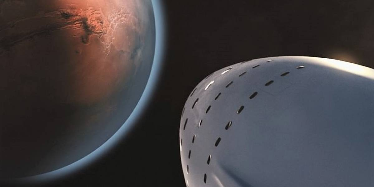 Fotos: SpaceX busca el sitio ideal para llegar a Marte con su cohete de nueva generación