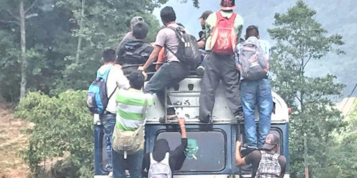 Propietario de bus recibe fuerte multa por superar número de pasajeros