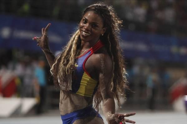Caterine Ibargüen se coronó campeona de la Copa Continental