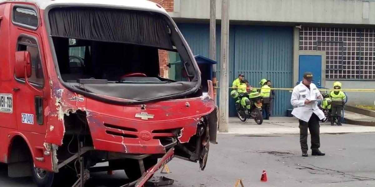 ¡Atención! Un muerto y varios heridos deja accidente en el centro de Bogotá