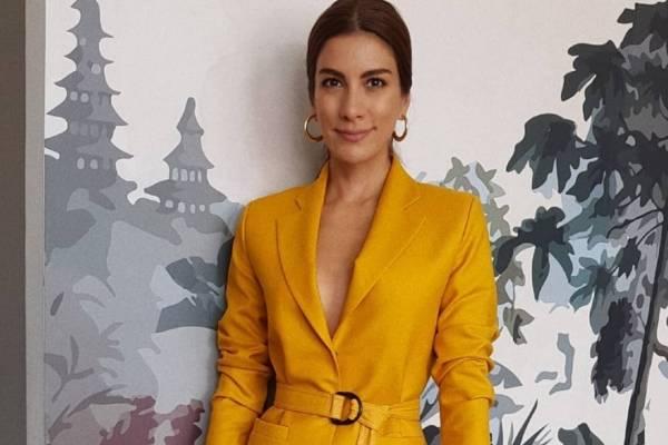 El Vestido De Andrea Serna Que Dio De Qué Hablar Nueva Mujer